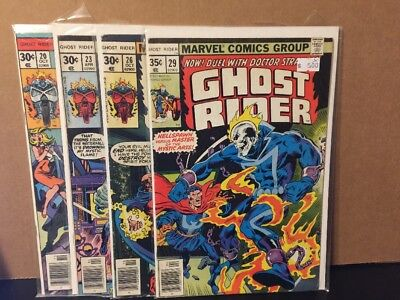 Ghost Rider 20 23 26 29 Lot Marvel Comics Combine Shipping Bronze Age