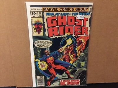 Ghost Rider 26 FN Marvel Comics Combine Shipping Bronze Age