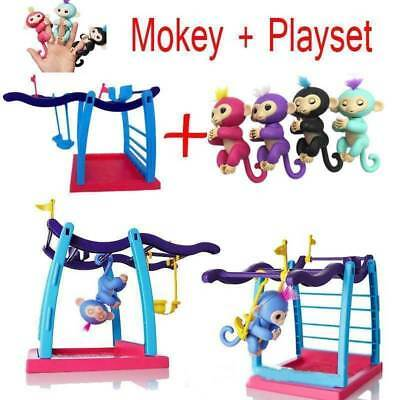 DHL Electronic Interactive Finger Baby Motion Monkey Affe Spielzeug Hanger Toys