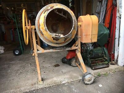 Electric cement/concrete mixer. Used