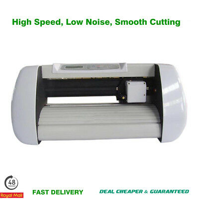 Sign Sticker Vinyl Cutter Cutting Plotter Machine 100-240V White SK-375T