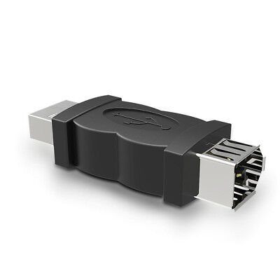 FireWire IEEE 1394 6-Pin Female to USB 2.0 Type A Male Adaptor Adapter Convertor