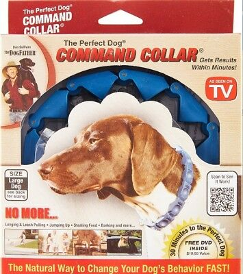Don Sullivan Perfect Dog Command Obedience Training Collar for M, L or XL Dogs