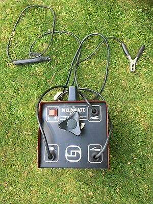 Electric welder, Stick, and Air cooled. Little used.