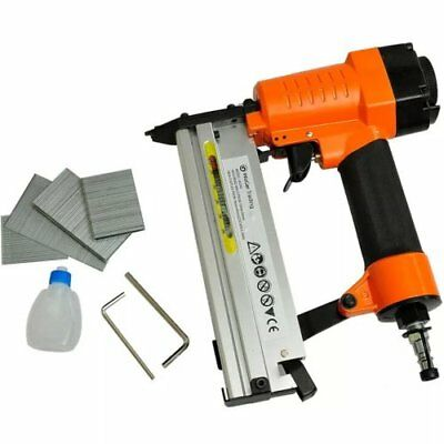 2-in-1 Pneumatic Air Powered Nailer Stapler Gun Powered Tool Light Weight diy uk