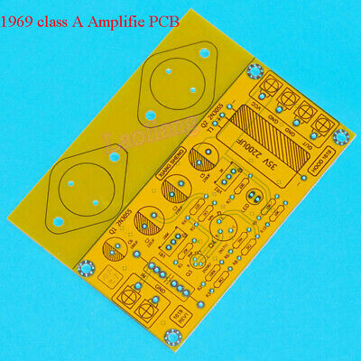 1pcsx JLH 1969 Class A Power Amplifier Board Mirror Bare PCB 10W-15W for amp
