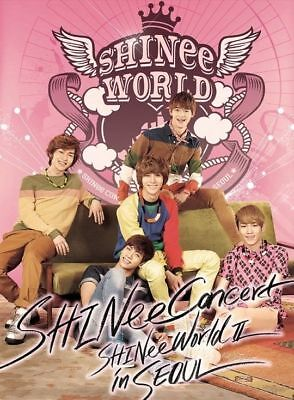SHINEE THE 2ND CONCERT ALBUM SHINEE WORLD II IN SEOUL 2CD+FotoBuch K-POP SEALED