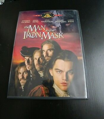 The Man in the Iron Mask (DVD, 1998, Standard and Letterboxed Checkpoint)