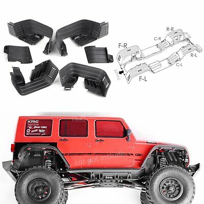 For Axial SCX10 II AX90046 AX90047 Front/Rear Inner Fender Wells/Mudguard Kits
