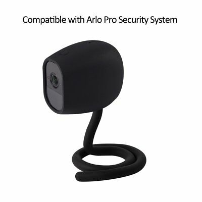 Flexible Twist Stick Mount+Silicone Skin Cover Case for Arlo Pro/Pro 2 Camera