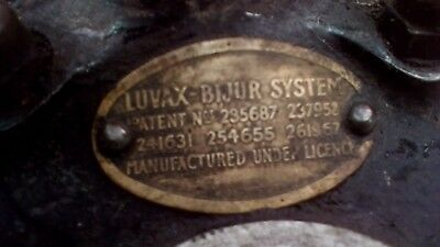 Luvax-Bijur one pedal chassis lubrication system, Rolls / Bentley / Lagonda