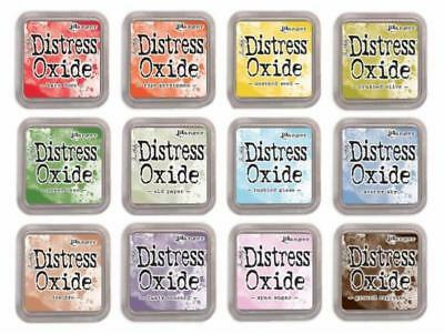 IN STOCK  New Tim Holtz Ranger Distress Oxide Ink Pads Release 4   July 2018