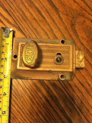 Vintage Elgin Dead Bolt Lock