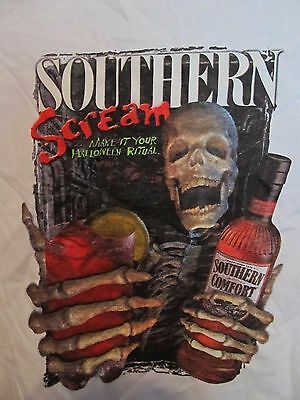 "Southern Comfort ""I'm A Southern Screamer"" Halloween Bar Promo T-Shirt Size XL"