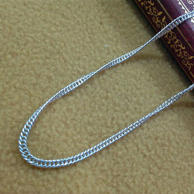 Fashion Jewelry Charm Women 925 Silver Plated SnakeChains/Necklace 16''-30''