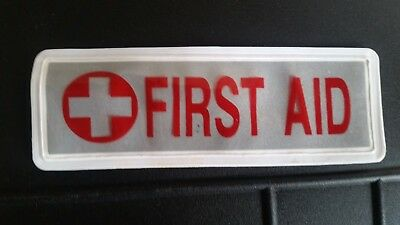 Small reflective First Aid insert. Paramedic, Technician.
