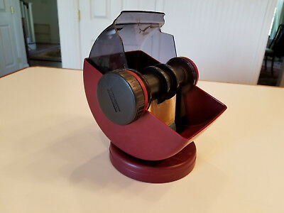 Rolodex model NSW-24C swivel revolving card file, holds 500 cards