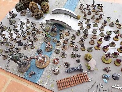 Job Lot LOTR Games Workshop Figures Army Metal Figures Accessories well painted