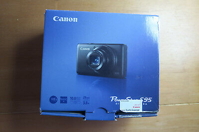canon powershot s95 camera excellent condition boxed.