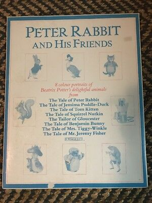 Peter Rabbit And His Friends 6 Colourful Portraits Of Beatrix Potters Delightful