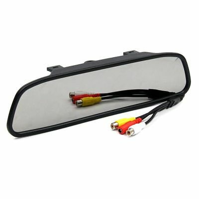 """2 in 1 TFT Auto Car LCD Rearview DVD Mirror Monitor Backup Camera 4.3"""" Screen"""