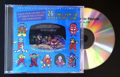 The Original Letter People Songs CD - LP Record Soundtrack 1970s