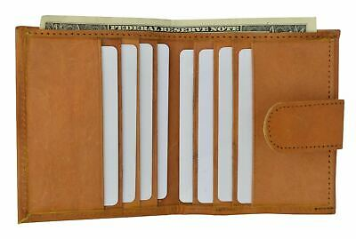 Ladies Small Wallet Coin Change Purse Card Holder Womens Wallet W/ Snap Tan New
