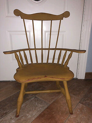 Vintage Child Comb back Windsor Doll or Child Arm Chair Quality Construction
