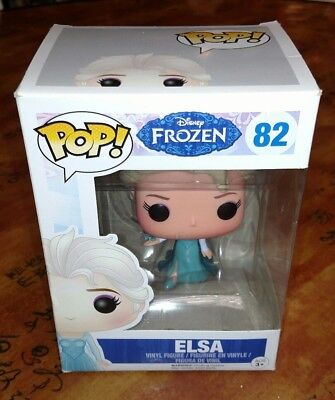 New Funko Pop! Disney Frozen Elsa #82 Vinyl Collectible Figure