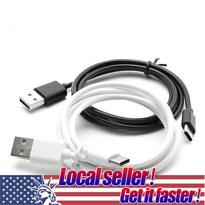 USA USB Type C Data Sync Cable Charge Cord for Galaxy Note 8 S8 Plus LG G5 G6 e0