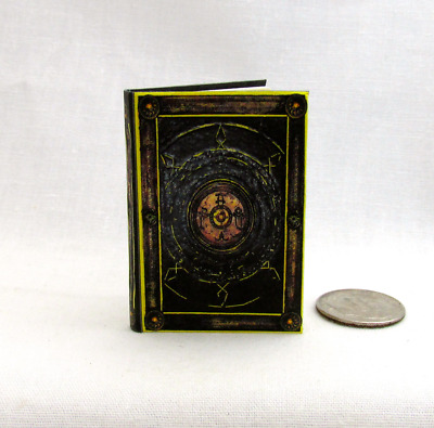 BOOK OF CAGLIOSTRO 1:6 Scale Readable Illustrated Miniature Book Doctor Strange