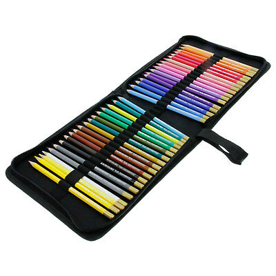 36 Piece Artist Grade High Quality Watercolor Color Pencil Set & Zippered Case