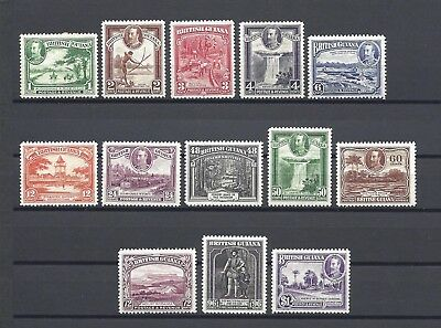 BRITISH GUIANA 1934-51 SG 288/300 MINT/MNH Cat £140