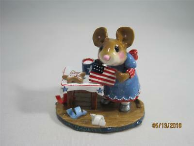 Wee Forest Folk Drop in for the Fourth Ltd Ed Red, White, and Blue - WFF Box