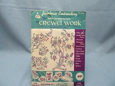 Vogart 672 Vintage Transfer Patterns Embroidery Days Of The Week W