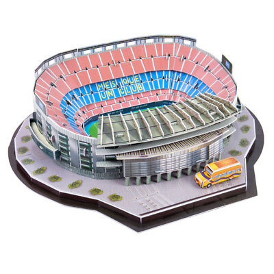 Puzzle 3D Camp Nou Footable Field Modello Puzzle Self Assembled Adulti Hobby