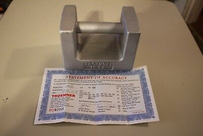 Troemner 10 LB Calibration Weight With NIST Certification