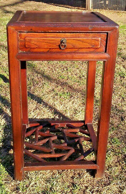 Chinese Antique Hardwood side  table 1900's