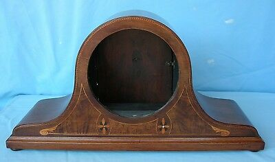 Immaculate Condition Mahogany Inlaid Clock Case