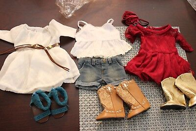 """18"""" doll clothes American Girl Tenney Grant Cowgirl Country"""
