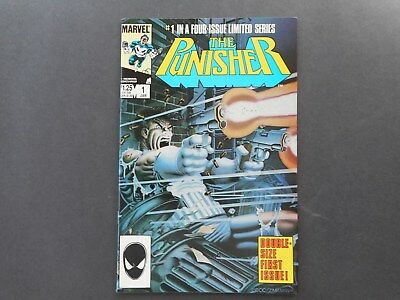 The Punisher # 1 Limited Series, NM- (Jan. 1986)