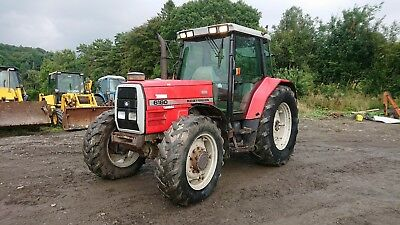 Due In Massey 6180 Dynashift 6Cyl 4Wd Tractor Genuine Thing More Pics To Come