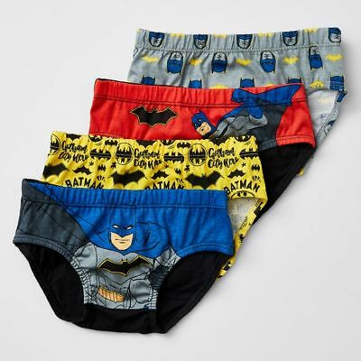 NEW Batman 4 Pack Briefs Kids