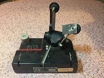 Vintage QTS J&R 16MM Moviola SPLICER Model 1060-2 Film