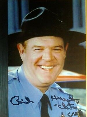 Rick Hurst CLETUS Authentic Hand Signed Autograph 4X6 Photo - DUKES OF HAZZARD