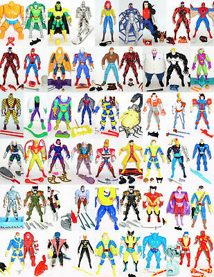 Toy Biz Marvel Action Figures - CHOICE - Spider-Man X-MEN Super Heroes X-FORCE