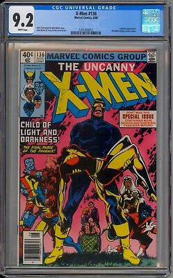 X-Men 136 CGC Graded 9.2 NM- Death of Phoenix Marvel Comics 1980