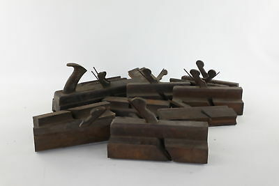 Lot of 15 x Vintage Mixed Moulding Tools Inc. Work Mens Names