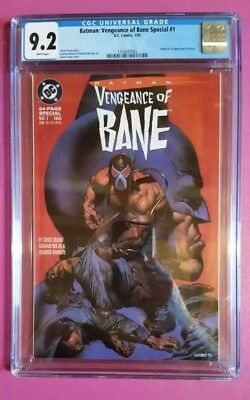 CGC 9.2 NM- Batman Vengeance of Bane Special #1 1st appearance of Bane