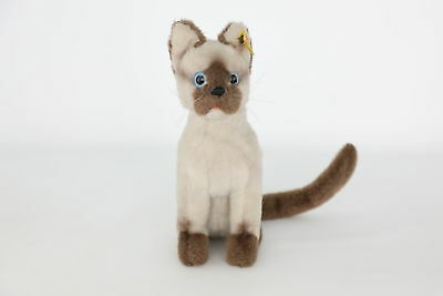 Wonderful Vintage STEIFF SIAMESE Cat Teddy Bear - 2740/25